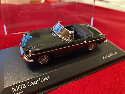 £22.99 • Buy Collectible Limited Edition MGB 1:43 Model (Green) - Official MG Minicamps