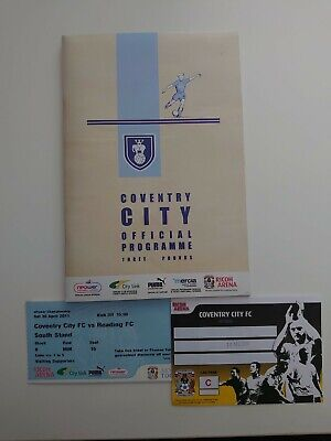 £14.99 • Buy Coventry City FC Hand Signed Programme - 24 Signatures: Obtained In Person