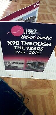 £5.50 • Buy Go North East X90 Oxford To London Booklet