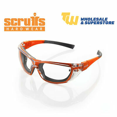 £12.99 • Buy Scruffs Falcon Safety Specs Anti-Fog Work Spectacles Clear UV Sun Protection