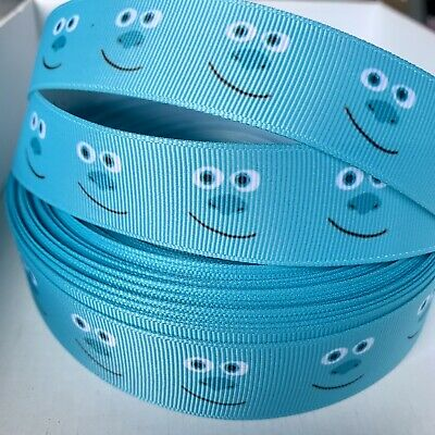 £0.99 • Buy Yard Monsters Inc Sulley Grosgrain Ribbon Character Craft Cake Bow