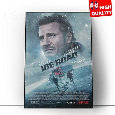 £4.99 • Buy The Ice Road Movie Liam Neeson 2021 Poster Print | A5 A4 A3 A2A 1 |