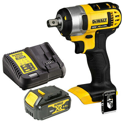 £158 • Buy Dewalt DCF880N 18V XR Li-ion Impact Wrench With 1 X 4.0Ah Battery & Charger