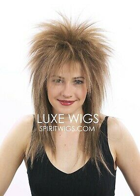 £28.77 • Buy TINA TURNER 1980's DELUXE Halloween Costume Theatrical Wig By New Look Wigs