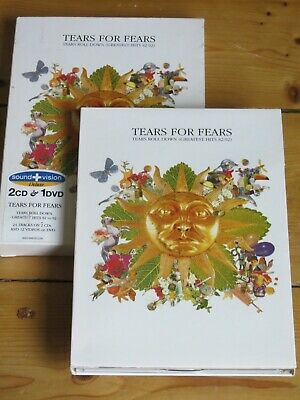 £28.50 • Buy 3 Disc (2 CD/DVD) TEARS FOR FEARS Tears Roll Down  Deluxe Sound & Vision Edition