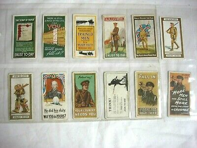£27.99 • Buy Antique - Cigarette Cards - Will's - Recruiting Poster's - Date 1915.