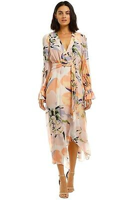 AU229 • Buy Ginger And Smart Delirium Wrap Dress In Lilac Size 16
