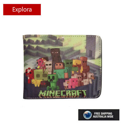AU13.95 • Buy New Minecraft  Faux Leather Wallet  With Coin Pouch - 6