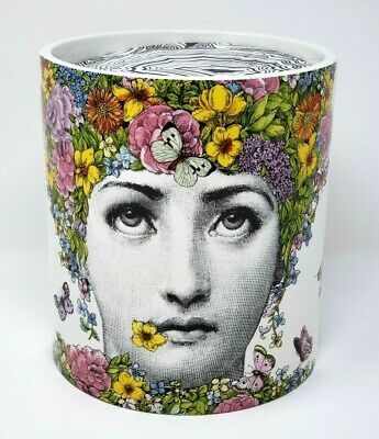 £272.58 • Buy FORNASETTI Flora Floral Perfumed Scented Decorative Ex-Large 3 Wick Candle 1900g