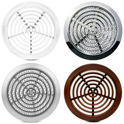 £3.19 • Buy  Ø 80mm Mini Round Air Vent Grille With Flange And Fly Screen Ventilation Cover
