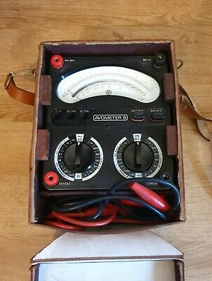 £100 • Buy Vintage Universal Avometer 8 Mark 5 (pretty Sure) Original Case Partly Tested