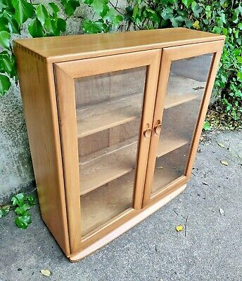 £499.95 • Buy Ercol 810 Bookcase Display Cabinet - Windsor Light Mid Century Style Quality
