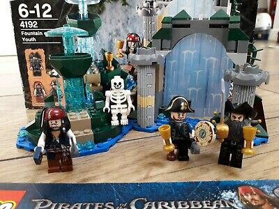 £50 • Buy LEGO Pirates Of The Caribbean Fountain Of Youth 4192 100% With Card & Poster