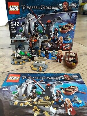 £50 • Buy LEGO Pirates Of The Caribbean Isla De Muerta 4181 Complete With Poster