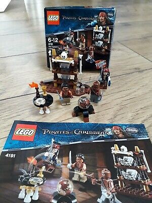 £25 • Buy Lego Pirates Of The Caribbean Captains Cabin 4191 100% Comp With Card & Poster