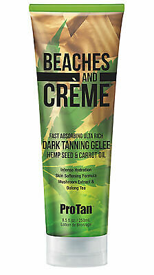£21.95 • Buy Pro Tan BEACHES AND CREME Dark Tanning GELEE With Carrot Oil 250ml Free Post