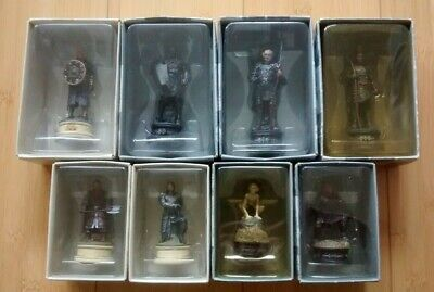 £30 • Buy Eaglemoss The Lord Of The Rings Chess Collector's Pieces X8 ALL SET 1