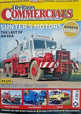 £9.99 • Buy Heritage Commercials Mag June 2021 = Bumper Issue