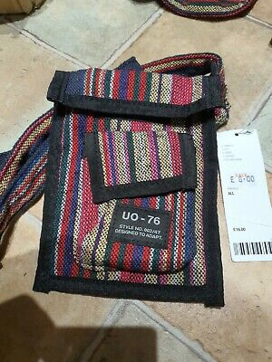 £4.79 • Buy Urban Outfitters Tapestry Pouch Boho Crossbody Bag