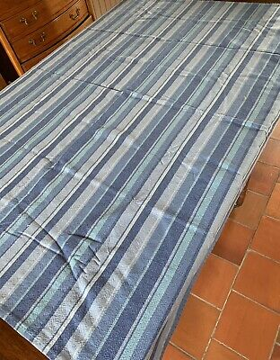 £22.50 • Buy Blue Stripe Tablecloth  Château French Chic Quality