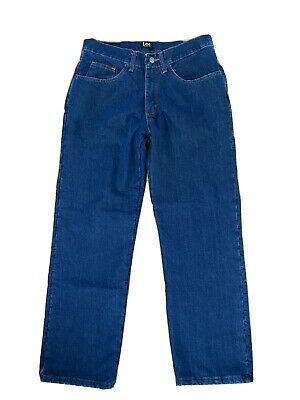 $19.90 • Buy Lee Men's Fleece And Flannel Lined Relaxed-Fit Straight-Leg Jeans 32x30 NWOT