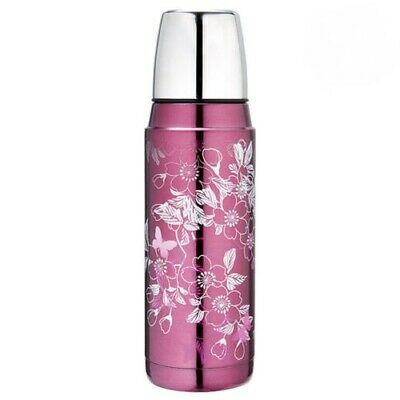 AU31.95 • Buy Thermos Stainless Vacuum Insulated 480ml Floral Magenta Flask