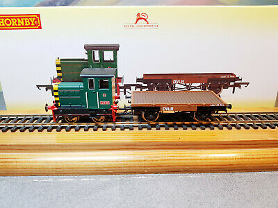 £81 • Buy R3852 Hornby DVLR Ruston & Hornsby 48DS 0-4-0 JIM & Flatbed Wagon 417892