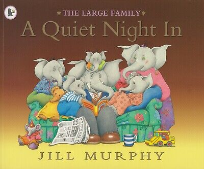£3.99 • Buy A Quiet Night In *brand New* Free P&p The Large Family Jill Murphy Paperback
