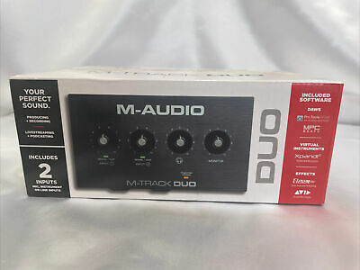 $81.44 • Buy M-Track Duo – USB Audio Interface For Recording, Streaming And Podcasting Brand