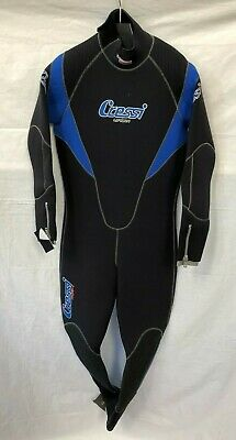 $250 • Buy CRESSI Lontra Full Suit 7mm Semi Dry - Man's Size XXL - Diving Wetsuit