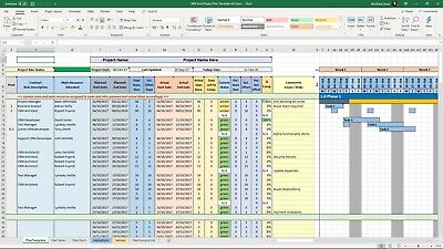 AU36.70 • Buy Project Management Templates, Excel Word PPT Microsoft Office 365 PRINCE2, Agile