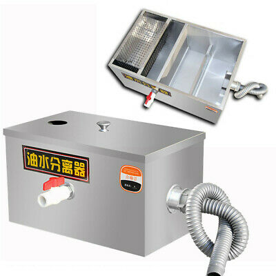 £64.01 • Buy Commercial Grease Trap Waste Interceptor Wastewater  Stainless Steel Restaurant