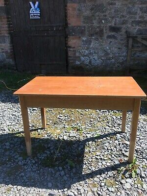 £95 • Buy Table Vintage / Old School Laboratory Desk /  Perfect Work Or Craft Or Office