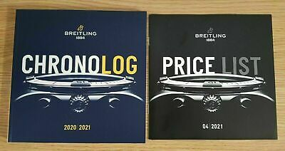 £9.99 • Buy 2020 2021 Breitling Chronolog Watch Brochure Catalogue 197 Pages Plus Price List
