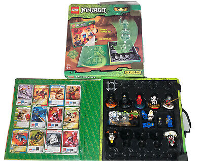 £39.99 • Buy Lego Ninjago Spinner Storage Box. 853409 With 12 Minifigures 7 Spinners,32 Cards