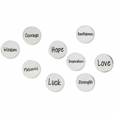 £12.30 • Buy Inspirational Coins For Take What You Need Box - Set Of 9 Incl. Love Hope Luck