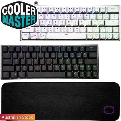 AU50 • Buy Cooler Master SK622 Gaming Keyboard RGB Wireless Mechanical WD510 Mouse Pad