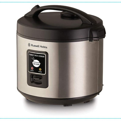 AU52.90 • Buy Rice Cooker RHRC1  10 Cup Russell Hobbs Silver