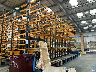 £960 • Buy CANTILEVER BACK TO BACK RACKING STORAGE SYSTEM (Brentwood Branch)