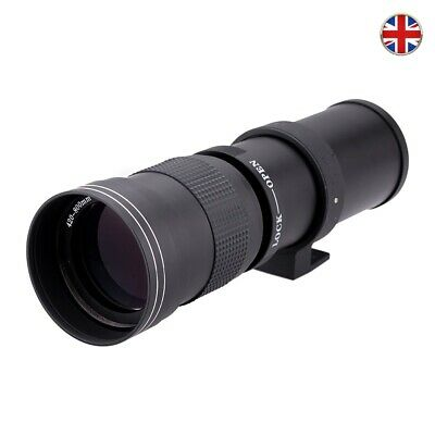 £139 • Buy Super Telephoto Lens Fit 420-800mm F/8.3-16 Manual Focus Zoom For Canon Camera