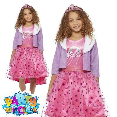 £26.99 • Buy Kids Barbie Doll Princess Adventures Deluxe Costume Girls Fancy Dress Outfit