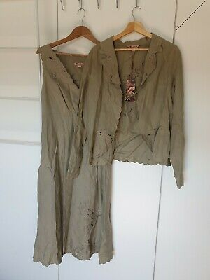 £25 • Buy Monsoon Summer Linen Dress And Jacket. Size 16. New With Tags.