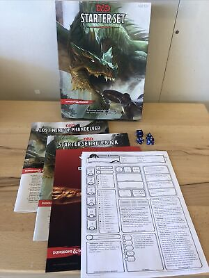 £7.03 • Buy Dungeons And Dragons Fifth 5th Edition, D&D 5E Starter Set Role New Open Box