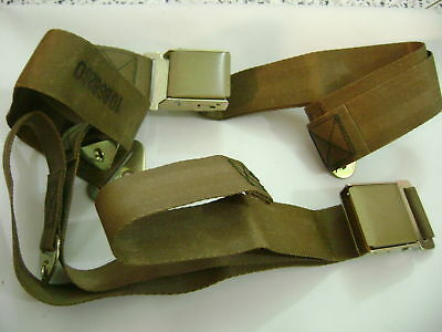 $100 • Buy Military Jeep Willys MB M38 M151 Dodge M37 Reo M35 Tank Truck Seat Belts NOS