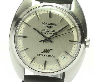 £357.84 • Buy LONGINES Ultra-Chron Date Cal.6651 Silver Dial Automatic Men's Watch_621349