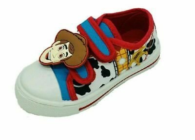 £12.99 • Buy Boys Disney Toy Story Woody Canvas Pumps Trainers Summer Shoes Size 6-12