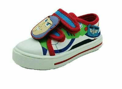 £12.99 • Buy Boys Disney Toy Story Buzz Lightyear Canvas Pumps Trainers Summer Shoe Size 6-12