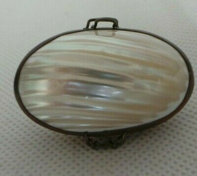 £9.99 • Buy Vintage Mother Of Pearl Thimble Holder From Chatelaine Set