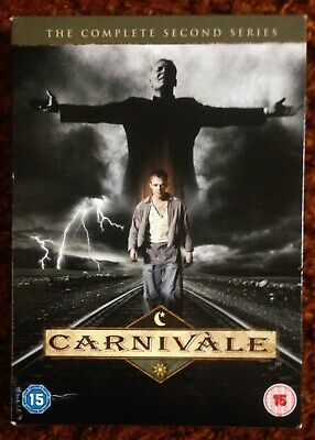 £5 • Buy DVD.  Carnivale. Complete Second Series. 12 Episodes On 6 Discs.