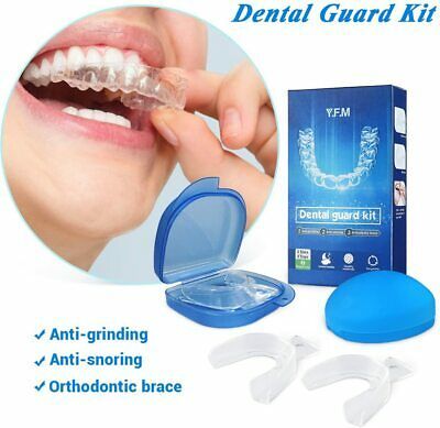 £8.99 • Buy Y.F.M Professional Dental Guard Kit - 2 Pairs With Storage Cases - BPA Free UK